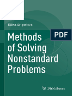 Methods of Solving Nonstandard Problems, Grigorieva, 2015