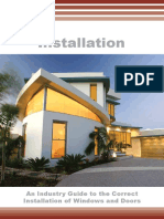 INSTALLATION  An Industry Guide to the Correct Installation of Windows and Doors.pdf