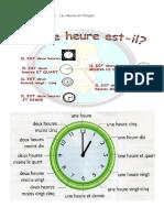 Las Horas del Reloj en Francés.docx