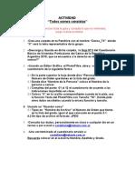 ACTIVIDAD Censo 2010