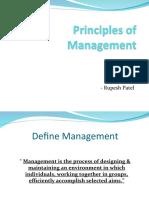 Principles of Management Sem 1 Slides Fantastic