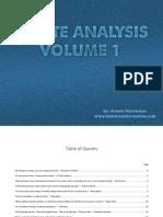 Quote Analysis Volume 1