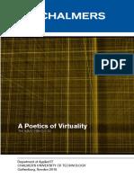 A Poetics of Virtuality