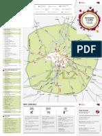 Rome ZTL (coach permit area) map - 2014 Version