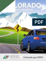 Driver handbook of Colarado