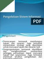 Kuliah 2 Pengelolaan Sistem Informasi