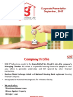 SRG Housing Finance Investors Presentation
