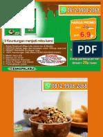 SANGAT MENGUNTUNGKAN, WA 0812-9908-2068, Paket Usaha Es Kepal Milo