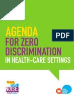 2017 Zero Discrimination Healthcare