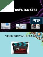 PPT SPEKTROFOTOMETRI UV VIS