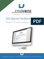360 Degree Feedback Survey Brochure