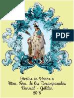 Programa Fiestas Barrial 2018