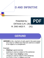 Gerund and Infinitives