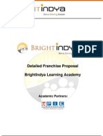 Franchisee Proposal