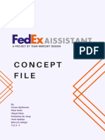 FedEx AIssistant Concept - Mercury Design