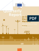 Quarterly Report on European Electricity Markets q1 2018
