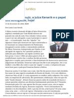 O Fator Stoic Mujic, A Juíza Kenarik e o Papel Dos Advogados, Hoje!