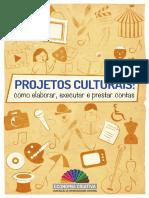livro projetos culturais