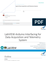 LabVIEW-Arduino Interfacing for Data Aqcuisition and Telemetry System