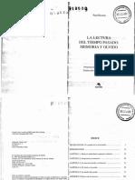 Paul Ricoeur - La Lectura Del Tiempo Pasado -Memoria y Olvido_text