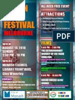 Indian Film Festival Poster