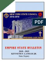 Empire State Bulletin - Summer 2018