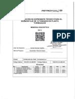 Memoria Descriptiva - SEL-57-2018 de Tanque P12