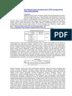 Cara Membaca Output Regresi Linier Berganda Pada SPSS Menggunakan Tingkat Signifikansi Dan Tabel Statistik