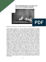Dos mercantes bombardeados a una milla de Mazagón en la II Guerra Mundial