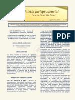 Boletin Jurisprudencial 2018-08-14