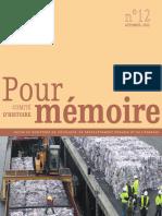 Pour mémoire n°12 - automne 2013 - Politique déchets ménagers - 30 ans loi orientation transports interieurs _0