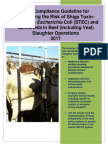 Compliance Guideline STEC Salmonella Beef Slaughter