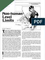 D&D Variant - Non-human Level Limits