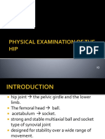 PHYSICAL EXAMINATION OF THE HIP.pptx