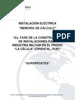 Memoria Eléctrica Superpostes