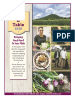 Discover Farm to Table 2018
