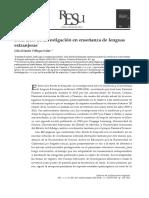 Rese a Diez a Os de Investigaci n en Ense Anza 2014 Revista de La Educaci