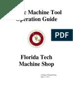Basic Machine Tools