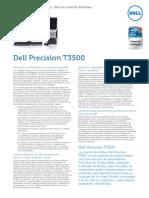 Precision t 3500 Tech Nicky Manual