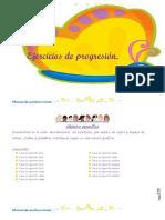 5Ejercicios de Progresion.