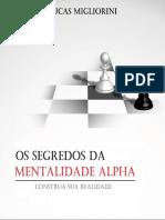 MENTALIDADE ALPHA - SIMPLIFICADO