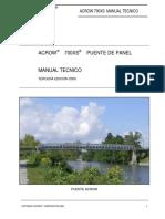 65663816 Manual Tecnico Puentes ACROW 3rd Edicion 2