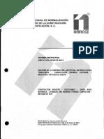 Nmx-c-476-Onncce-2013 Compactacion Dinamica Estandar y Modificada