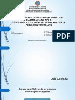 Dermatoglifos Digitales en Pacientes Con Diabetes Mellitus Tipo-1