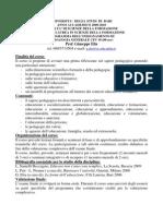 Bari programmi 2009-10