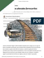 Alonso(2017)-El Balasto y Los Añorados Ferrocarriles