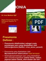 2.6.2.1 Bronkopneumonia Dan Pneumonia