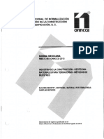 NMX-C-467-ONNCCE-2013 MATERIALES PARA TERRACERIAS- METODO DE MUESTREO..pdf