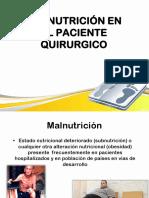 Malnutricion en paciente quirurgico