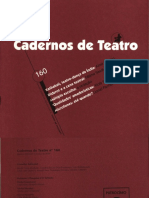 Cadernos de teatro nº 160